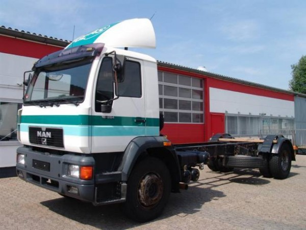 MAN - 18.284 Fahrgestell / Chassie / Hydraulik / Pumpe