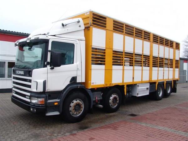 Scania - 124G 400 Transport animale