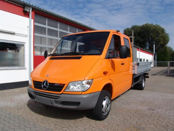 Mercedes-Benz - Sprinter 413 CDI MAXI cabina doppio pick-up