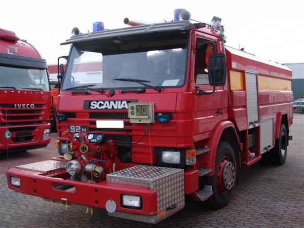 Scania - 92M 280 Firefighting tanker water cannon water pump