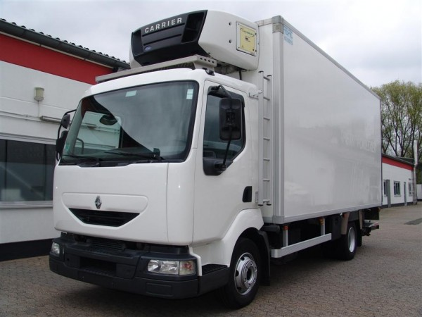 - Midlum 150 dci Refrigerator Body Truck Tail lift Air condition