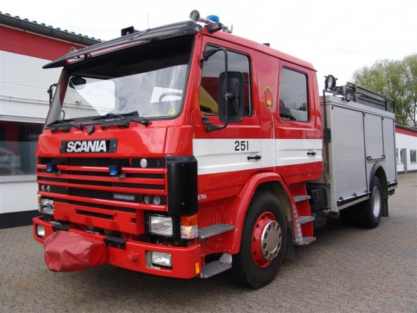Scania - G 92 M 4x2  Firefighters tanker water tank pump