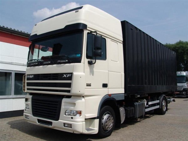 DAF - XF 95.380 Super Space Cab container BDF Liftgate Euro 4