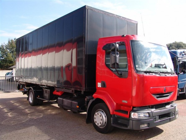 Renault - Midlum 270DCI 6 cilindros Container BDF Body con ascensor