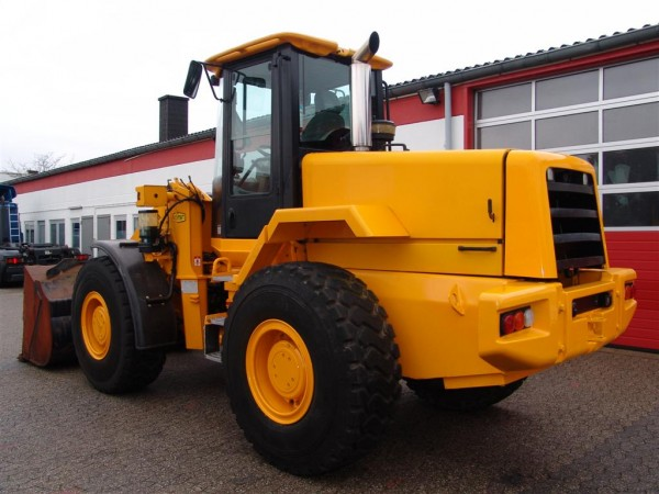 JCB - 426 ZX Wheel Loader reversible blades blade 2,1cbm scale air conditioning all wheel drive