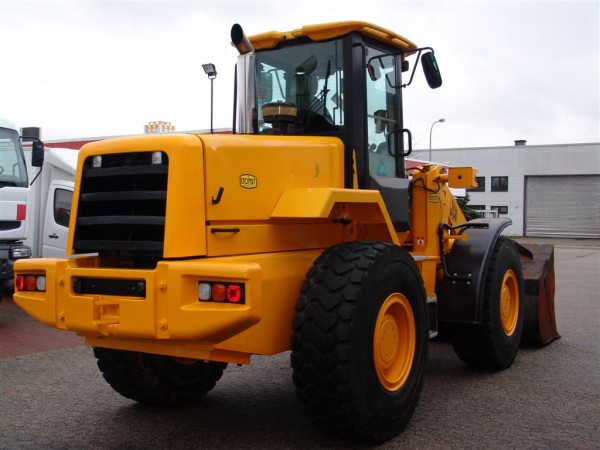 JCB 426 ZX Wheel Loader reversible blades blade 2,1cbm scale air conditioning all wheel drive