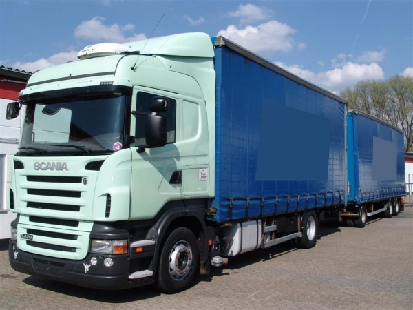 Scania - R420 Highline Trailer Truck 115m³ Retarder stationary air conditioning