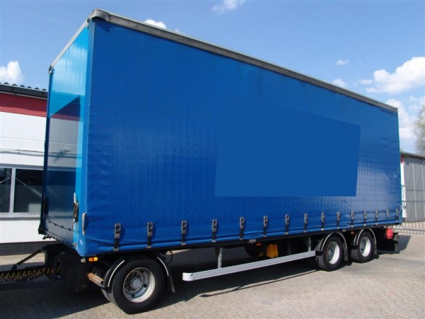 Andere - Samro trailer with tautliner construction air suspension