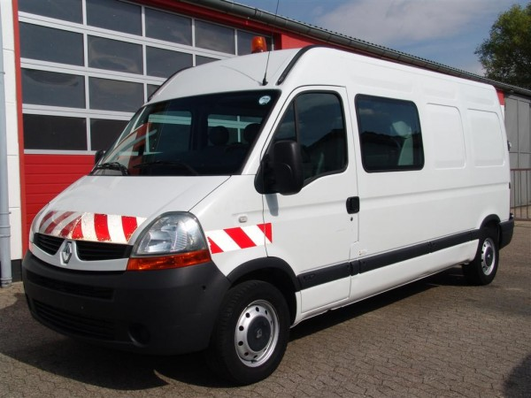 Renault - Master 120dci L3H2 box construction with 7 seats trailer coupling 2.000kg