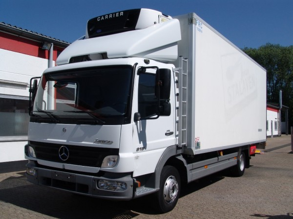 Mercedes-Benz - Atego 918 fridge box air suspension tailgate first hand