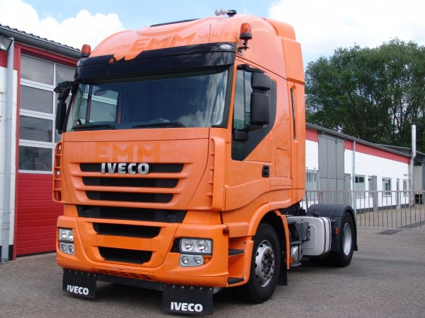 Iveco - Stralis AS440S45 cube  basculantă hidraulic prima mana 236TKM !!