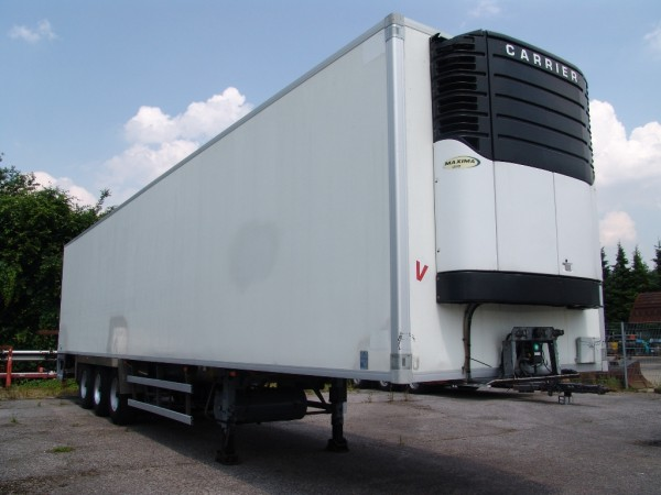 - Samro refrigerated box semi trailer with Carrier aggregator
