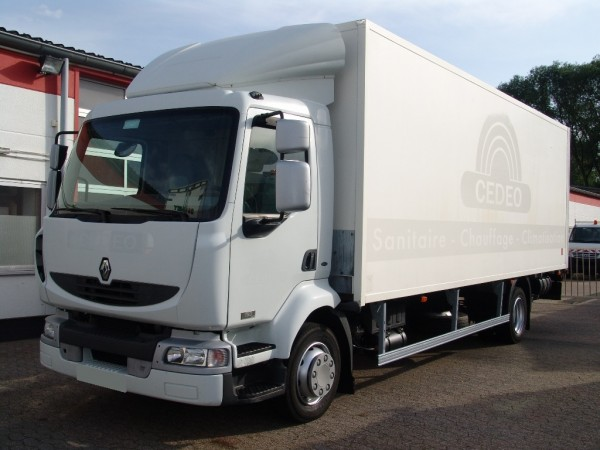 Renault - Midlum 180 DCI box liftgate air conditioning first hand