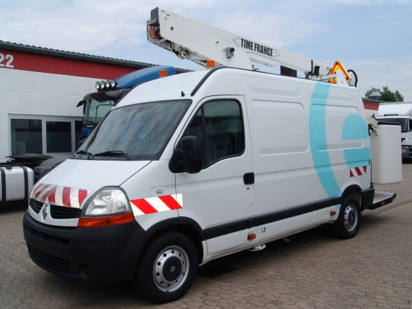Renault - Master 120dci L2H2 working platform 13m basket for two persons 2 hydraulic supports