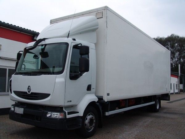 Renault - Midlum 280 DXI double floor case liftgate first hand