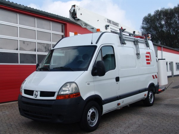 Renault - Renault Master 120dci L2H2 working platform 13m basket for two persons 2 hydraulic supports