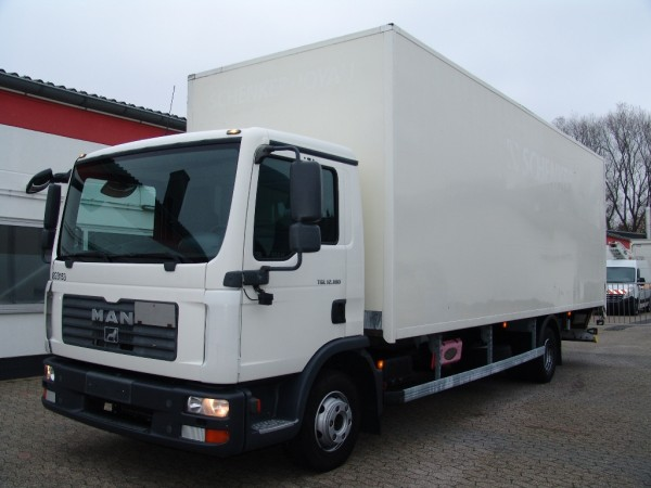 MAN - TGL 12.180 case 7,50m EURO 4 Liftgate first hand