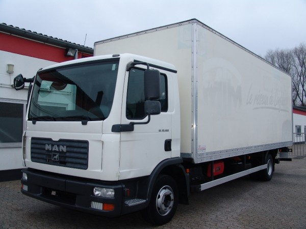 MAN - TGL 10.180 case EURO4 Liftgate first hand only 175.000km