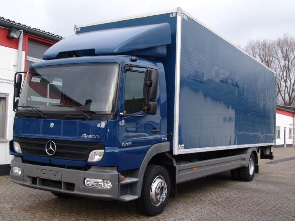 Mercedes-Benz - Atego 1218 case air conditioning liftgate