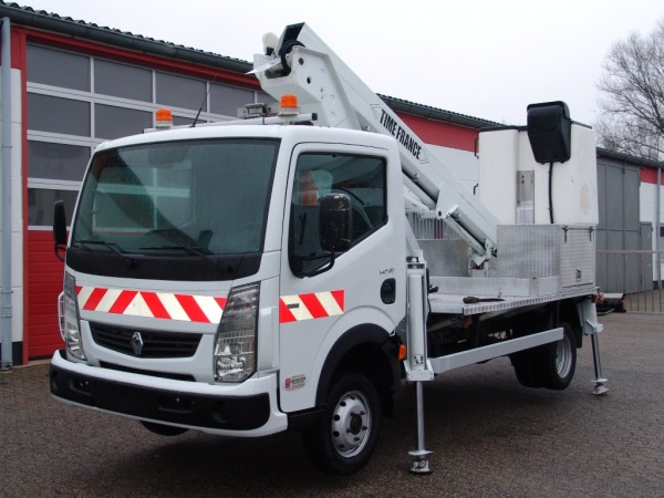 Renault - Maxity 130.35 working platform VT48NE 16m 2 person basket 4 hydr. support
