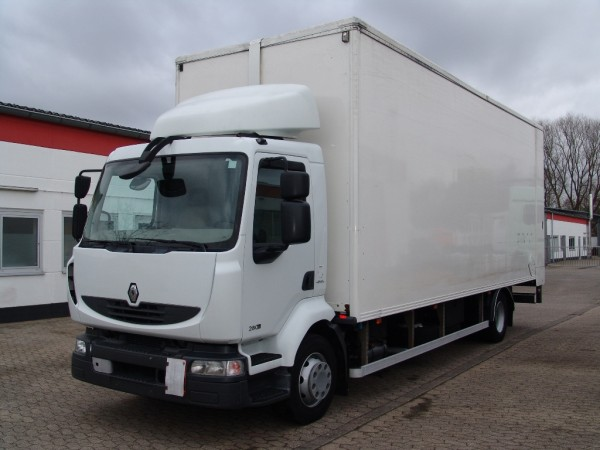 Renault - Midlum 280 DXI double floor case with hydr. roof and floor