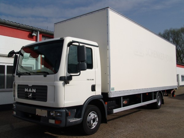 MAN - TGL 12.180 EURO 4 case 7,5m air suspension liftgate