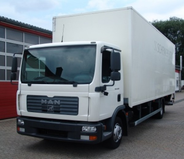 MAN - TGL 12.180 container EURO 4 Lift