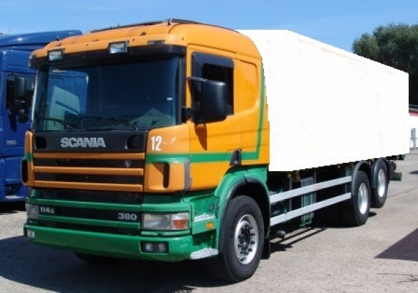 Scania 114G 380 Chassis Air Sleeper