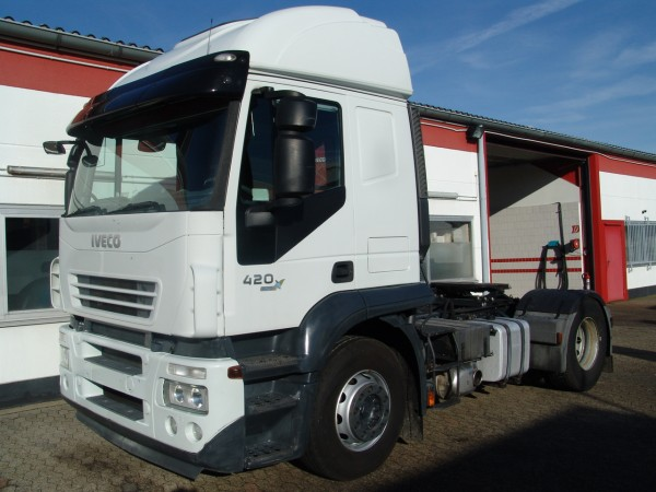 Iveco - Stralis AT440S42TP Active Cab Kipphydraulik Intarder EURO5