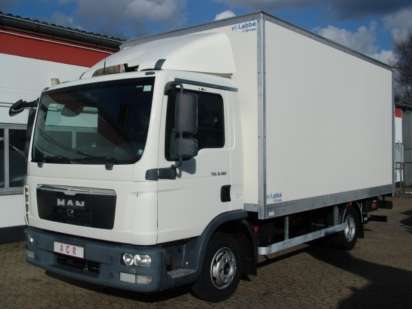 - MAN TGL 8.180 box liftgate EURO5
