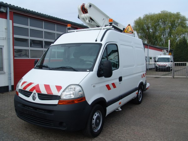 Renault - Master 120dci L1H2 working lift ET26NEXS Versalift just 541h working hours