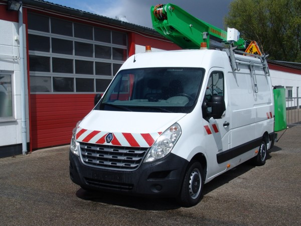 Renault - MAster 125dci working lift 13,40m ET36LF Versalift 2 people basket