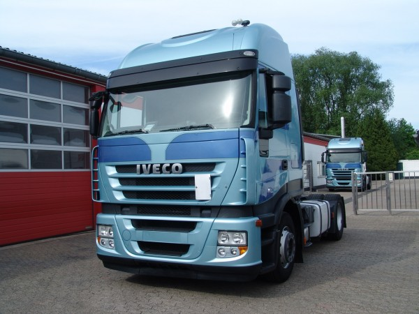Iveco - Stralis 450 ActiveSpace EURO4 first hand!