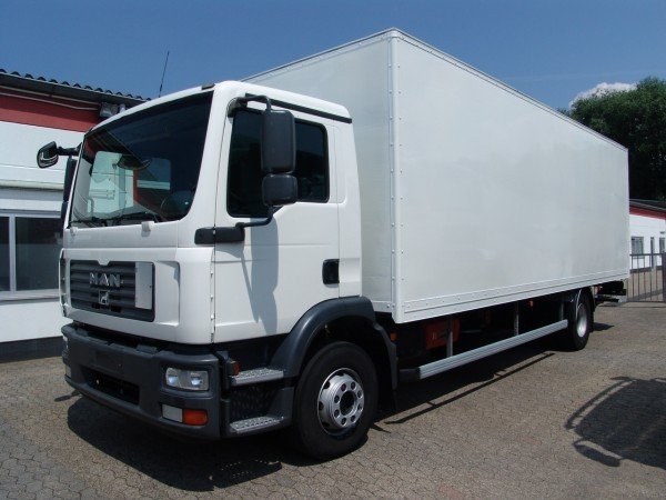 MAN - TGM 15.240 BLS closed box 7,5m Anteo liftgate EURO4