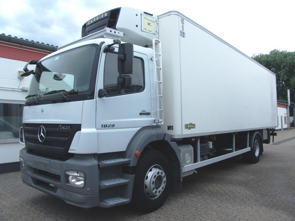 Mercedes-Benz - Axor 1829 caisse frigorifique Carrier 850 LBW Bi-temperature clim