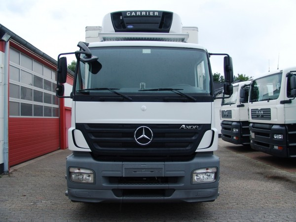 Mercedes-Benz Axor 1829 caisse frigorifique Carrier 850 LBW Bi-temperature clim