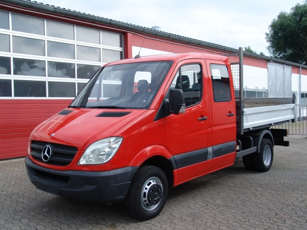 Mercedes-Benz - Sprinter 511 Doka tipper trailer coupling EURO4