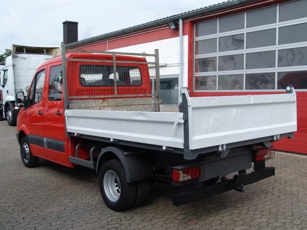 mercedes benz sprinter 511 double cabine benne attelage remorque prix 14900 eur. Black Bedroom Furniture Sets. Home Design Ideas