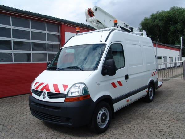 Renault - Master 120dCi L1H2 working lift Time France ET26NEXS Just 512 working hours!