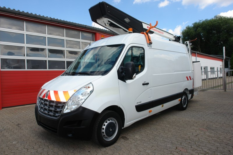 Renault - Master 125dci working lift Versalift ET38NF 14,2m 2 persons basket 963h working hours
