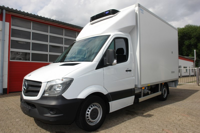 Mercedes-Benz - Sprinter 316Cdi fridge box butcher hooks airco factory warranty!