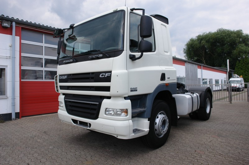 DAF - CF 85.410 manual gear box airco tipper hydraulic EURO5 Just 406Tkm!