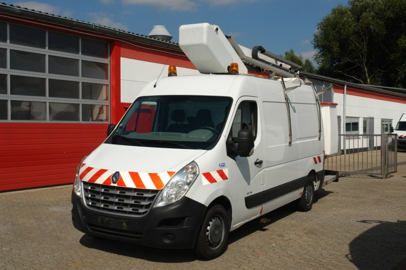 Renault - Master 125dci working lift France Elevateur 122F 12,5m 200kg basket
