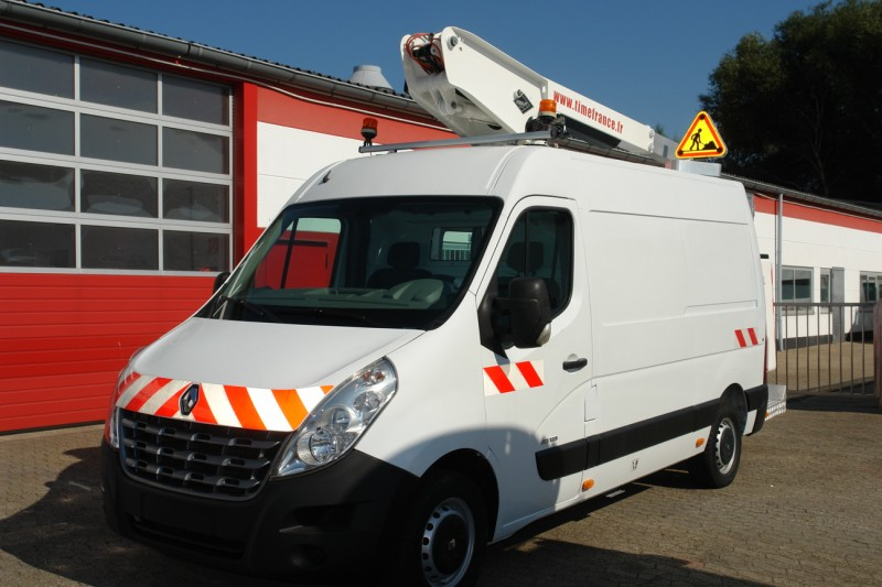 Renault - Master 125dci working lift 10m Versalift ET32LEXS only 416 machine hours!
