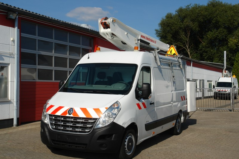Renault - Renault Master 125dci with working lift Versalift ET-38-LF 14,5 m 2 persons basket