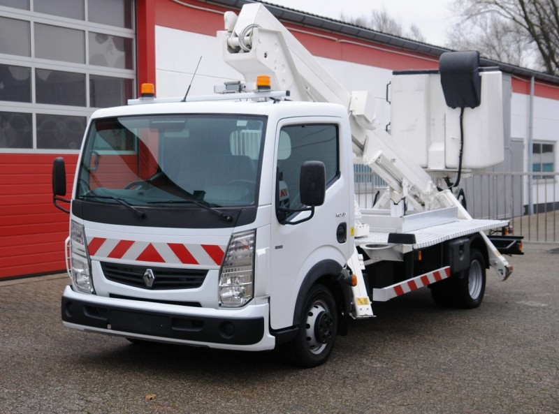 Renault - Maxity 130DXi working lift VT48NE 16m 200kg basket new TÜV and UVV!