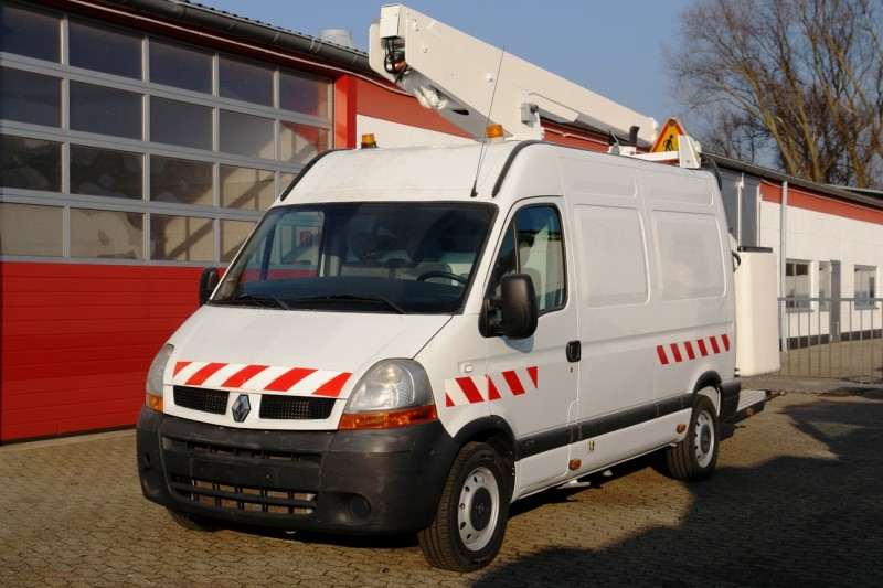 Renault - Master 100dci working lift ET38NF 14m 200kg basket  new TÜV and UVV!