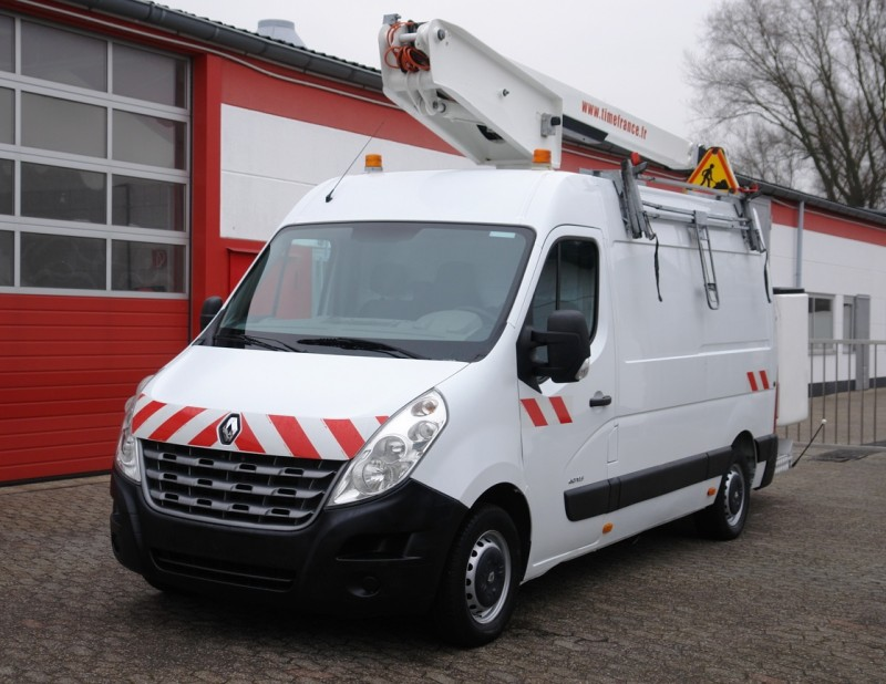 Renault -  Master 125dCi working lift ET-38-LF  14m 200kg basket new TÜV and UVV!