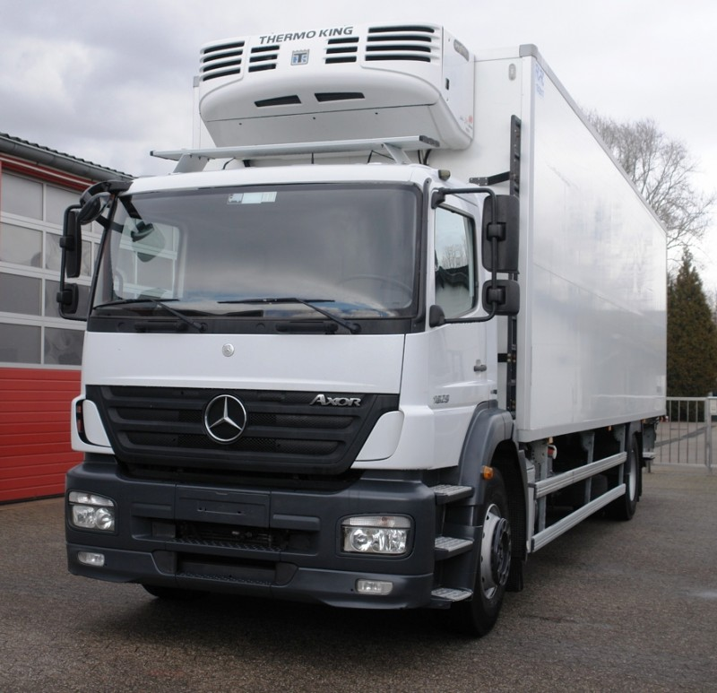 Mercedes-Benz - Axor 1829 camion frigorific Thermoking Multitemperatur Lift hidraulic MBB Palfinger