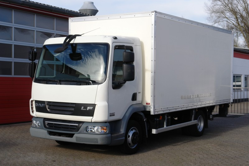 DAF - LF 45.160 box 5,30m sidedoor liftgate 1500kg EURO5 TÜV new!